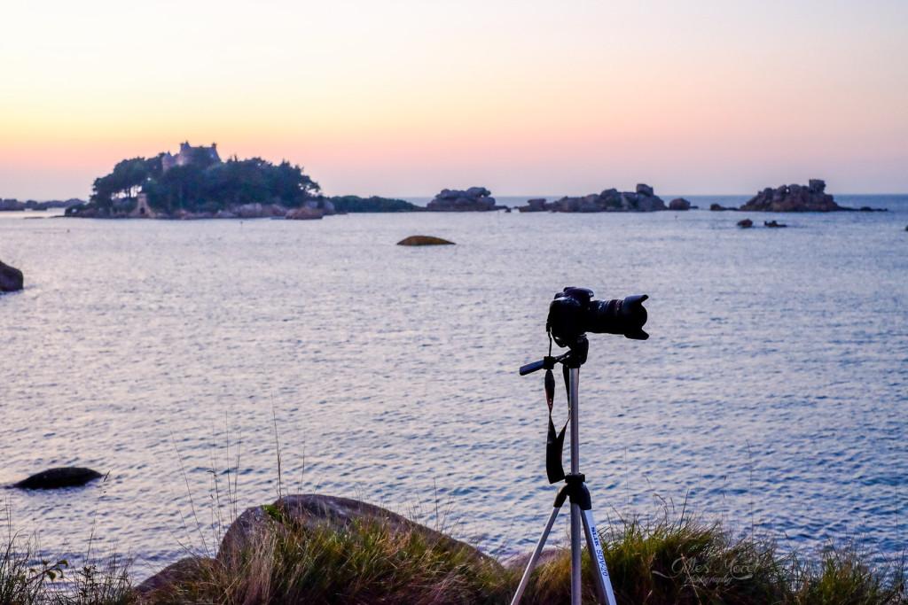 Canon 7D sur son trépied