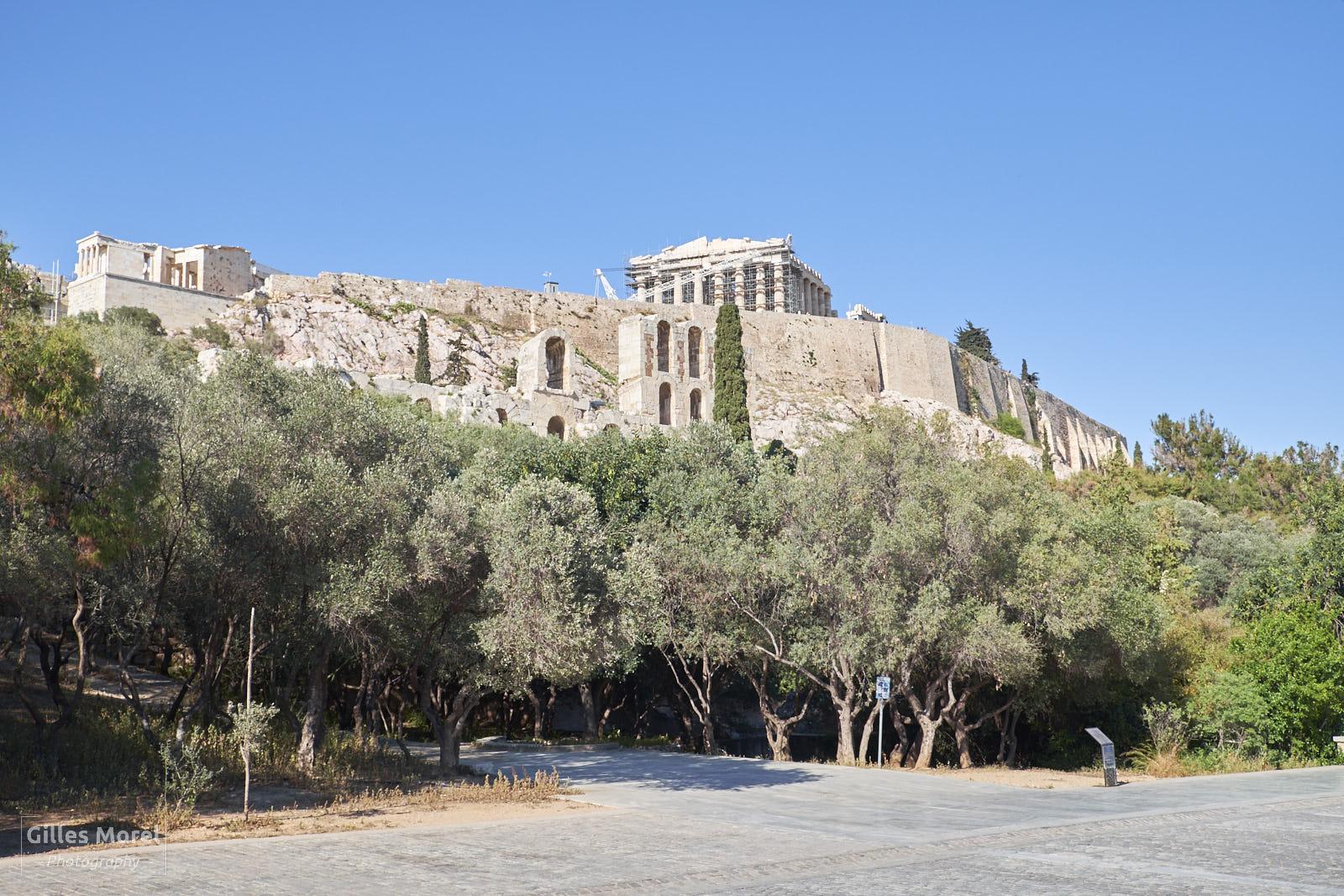 billet acropole athènes